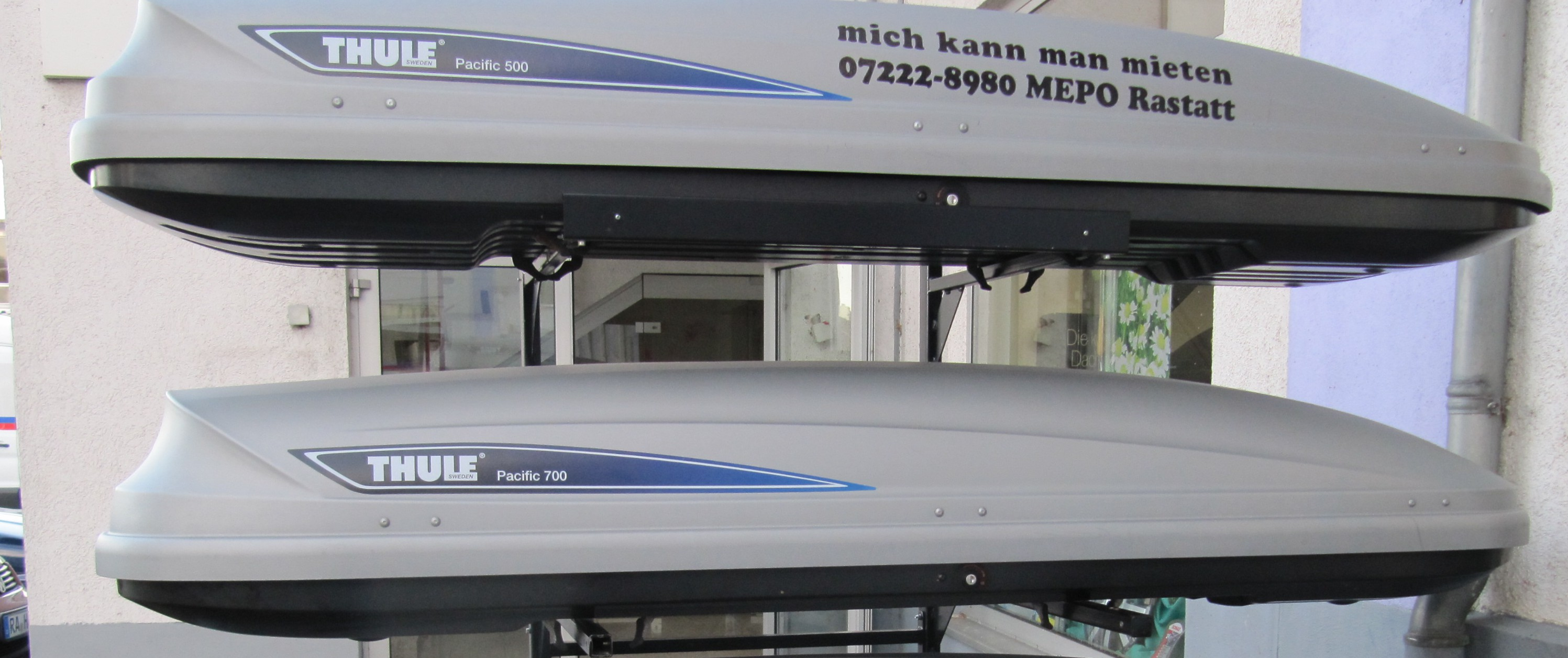 Thule Dachboxen -Verkauf / Vermietung-